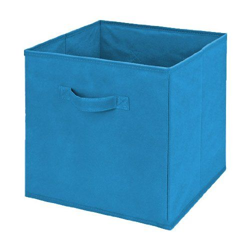 Collapsible Storage Cube Box 11 X11 X11 Ocean Blue Collapsible Storage Cubes Cube Storage Storage