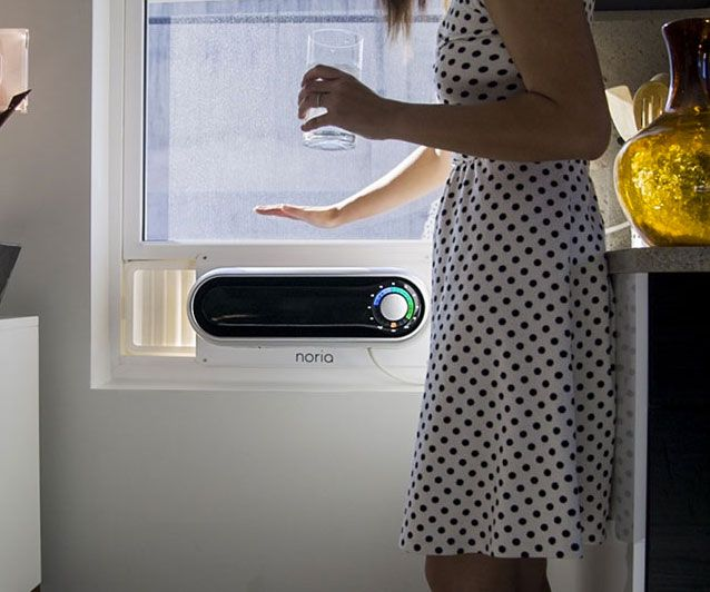 Noria Window Air Conditioner Eco Energy Conservation