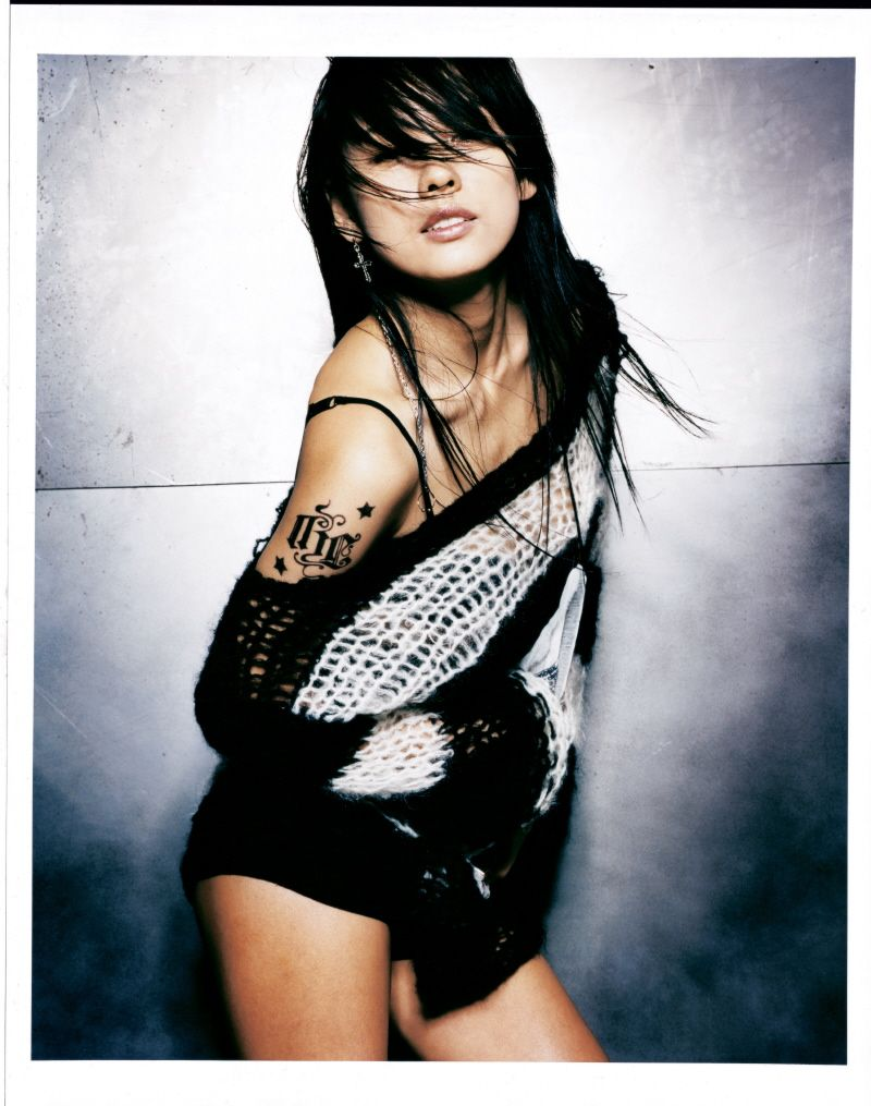 "Lee Hyori for album ""Dark Angel"" 2006 