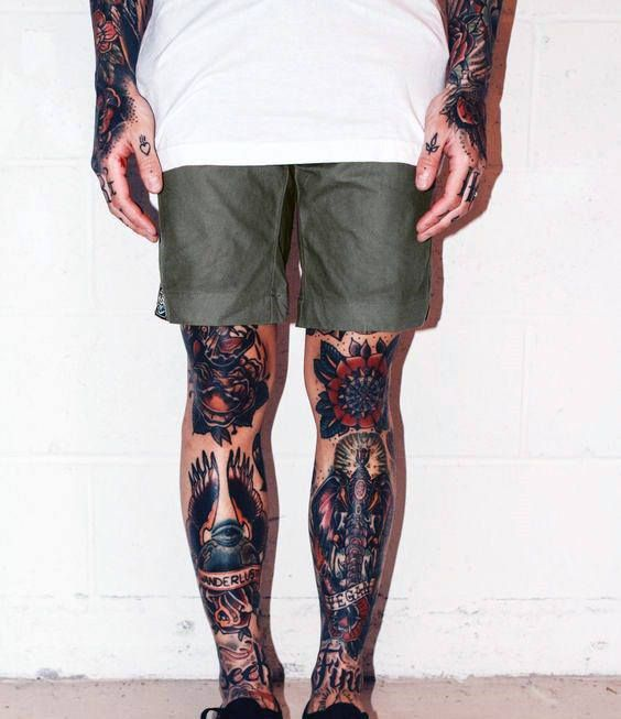 Top 59 Traditional Tattoo Sleeve Ideas 2020 Inspiration Guide Traditional Tattoo Sleeve Traditional Tattoo Leg Sleeve Tattoo Sleeve Designs