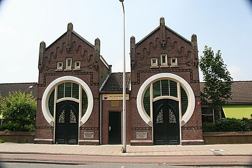 Dutch twin Jugendstil buildings, city of Utrecht, The