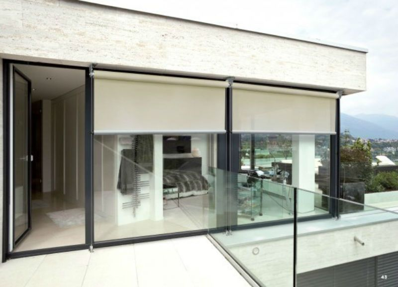 Toldo vertical cortina exterior vertical j de jardim for Cortinas exteriores