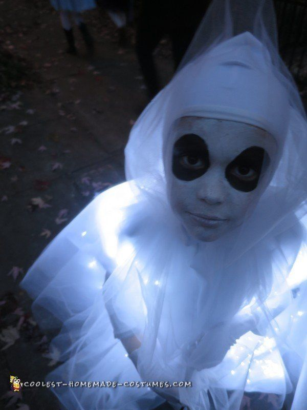 Glowing Ghost Costume for a Child Ghost costumes, Costumes and - halloween ghost costume ideas