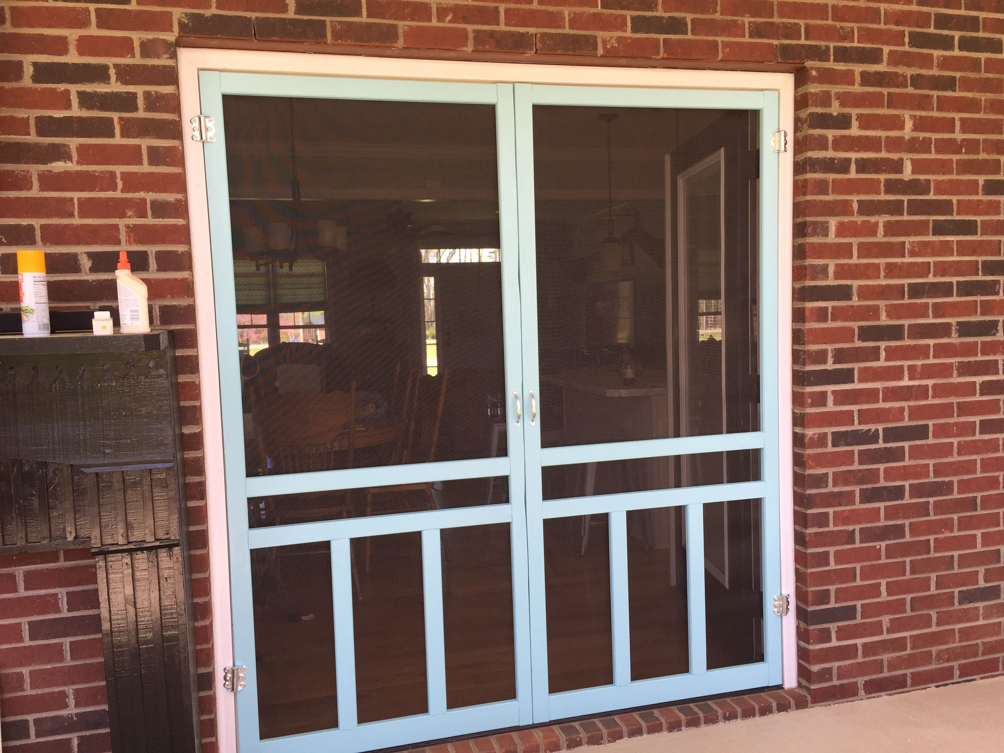 Wood Screen Doors From Lowes With Spring Hinges Patio Pinterest