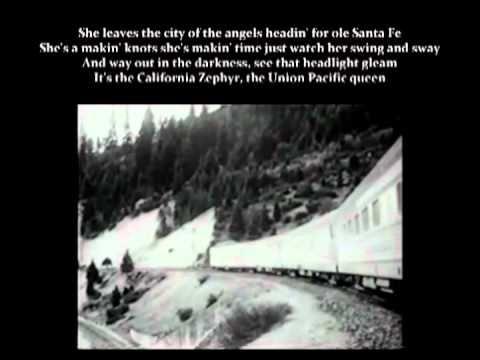 California Zephyr  Hank Williams Sr. with Lyrics
