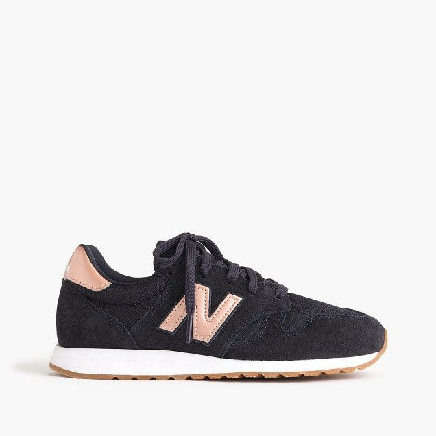Women's New Balance for J.Crew 520 sneakers in navy rose gold size 9 ...