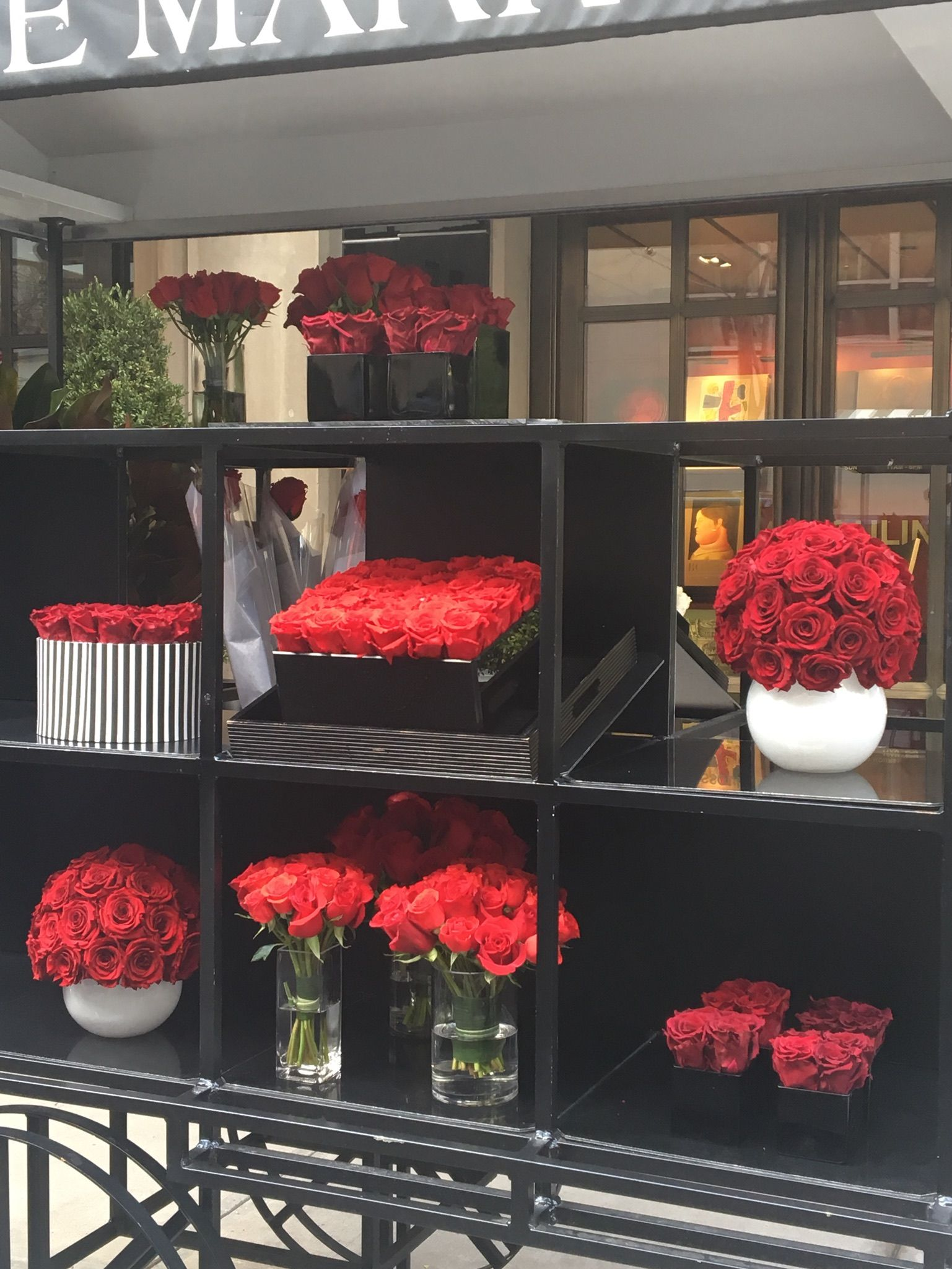Luxe Love #OOTD: Valentine's Day at The Mark Floral Cart, NYC
