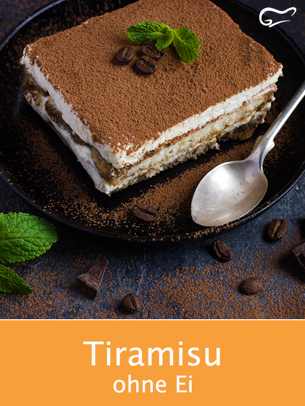 Photo of Tiramisu is an Italian dessert classic – here is an egg-free recipe that …