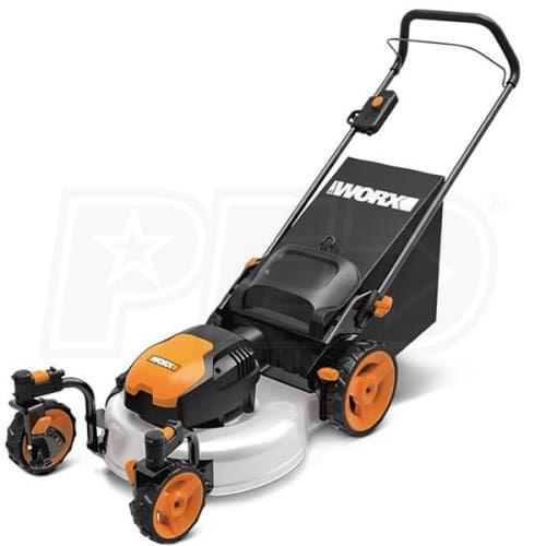 Worx Wg719 Worx 19 Inch 13 Amp Electric Lawn Mower Lawn Mower Cordless Lawn Mower Gas Lawn Mower