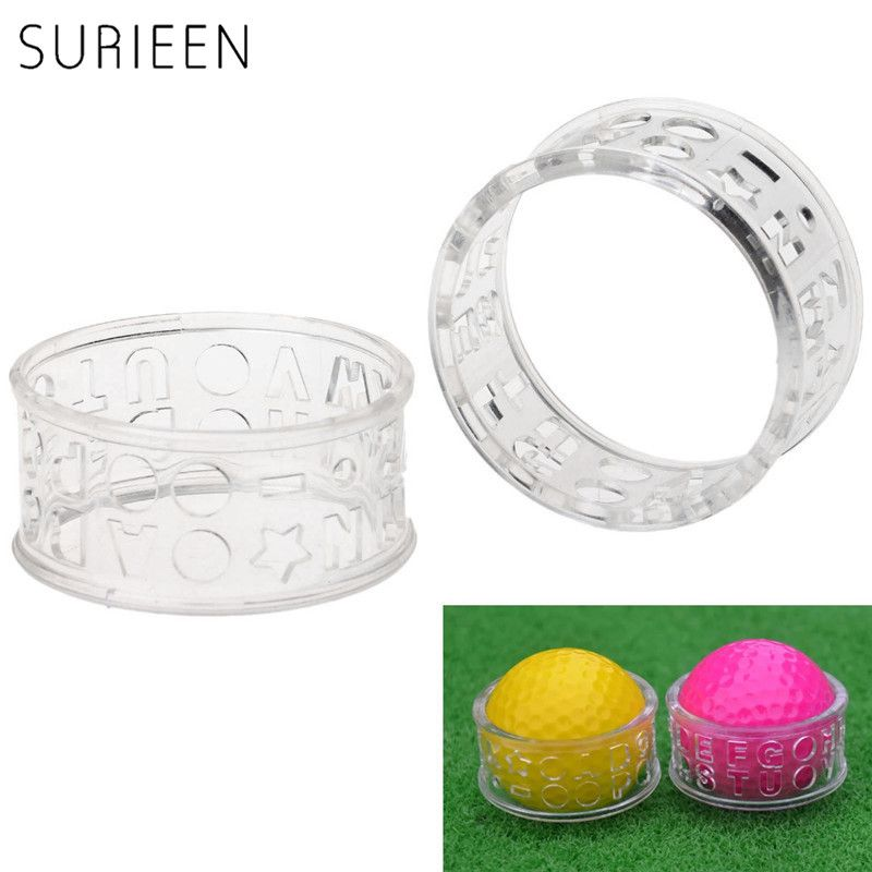SURIEEN 1PC Golf Training Aids Golf Ball Letters Alphabet Liner Line - Equipment Bill Of Sale