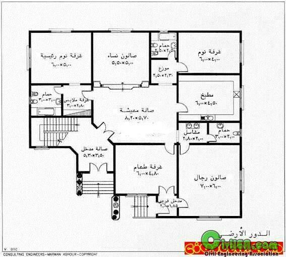مخططات مخطط فلل فلة عماير عمارة شاليهات شالية منتجعات إنشاء مباني تصميم وهندسة معم Family House Plans Architectural Floor Plans L Shaped House Plans