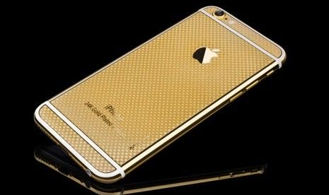 iPhone terbaru dengan lapisan emas 24 karat keluaran ...