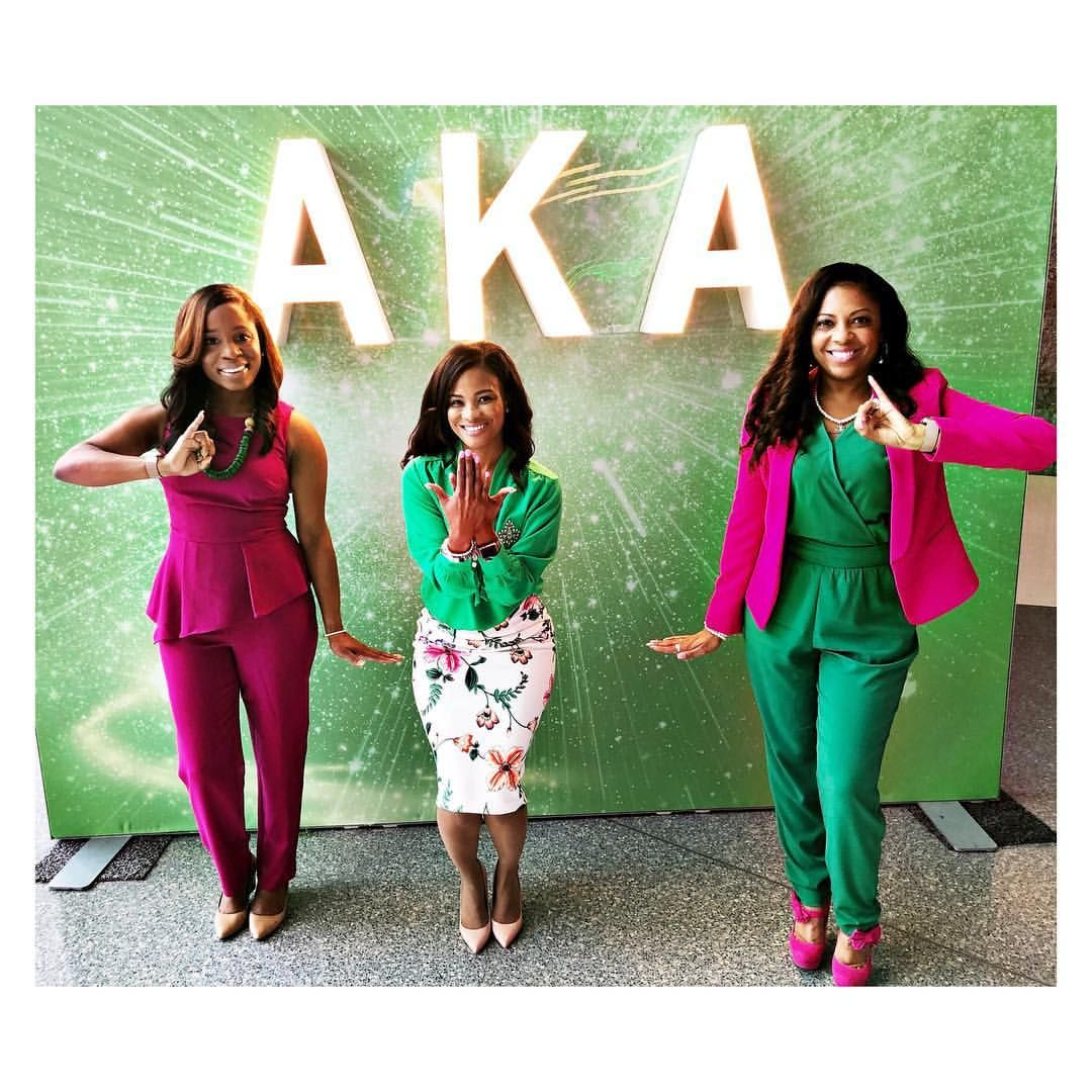 "Tiffany Stribling on Instagram: ""You can't compete where you don't compare! �� Happy 111th Founders' Day to the illustrious women of Alpha Kappa Alpha Sorority,…"""