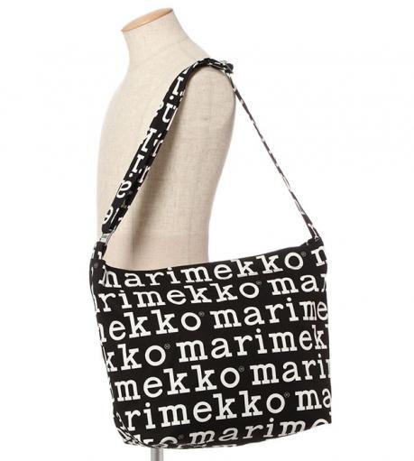 【アジア限定】Marilogo ショルダーバッグ Mini Weekender ショルダーバッグ   marimekko (マリメッコ) 公式通販サイト   LOOK @ E-SHOP