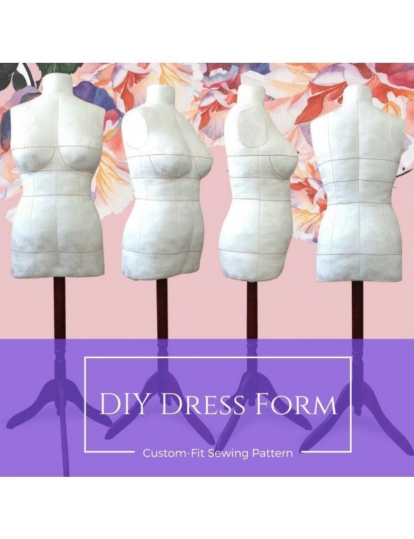 DIY Dress Form Sewing Pattern PDF Designer Sewing Patterns ...