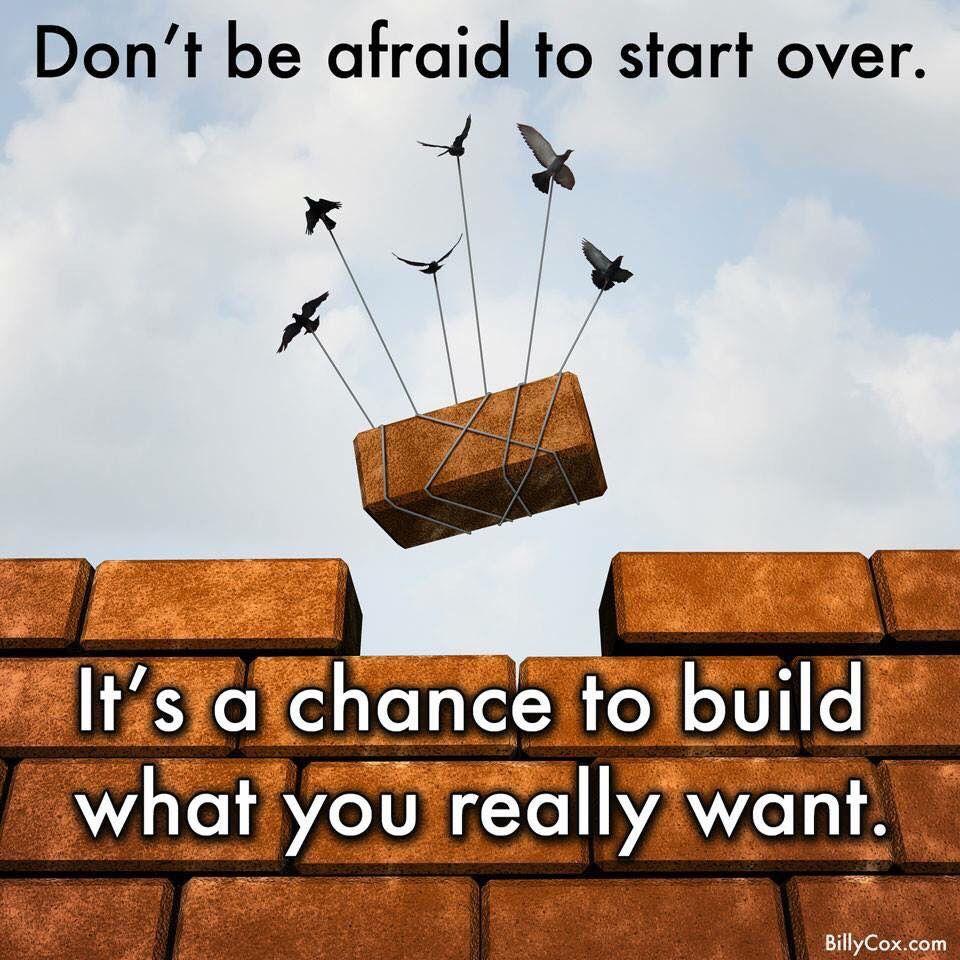 Don't be afraid..