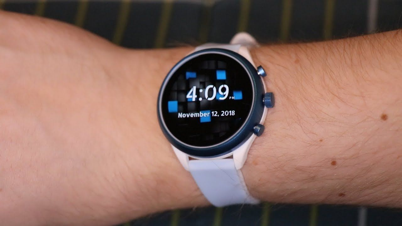 Smart Watch Fossil Q (4th Gen) Sport UNBOXING OVERVIEW