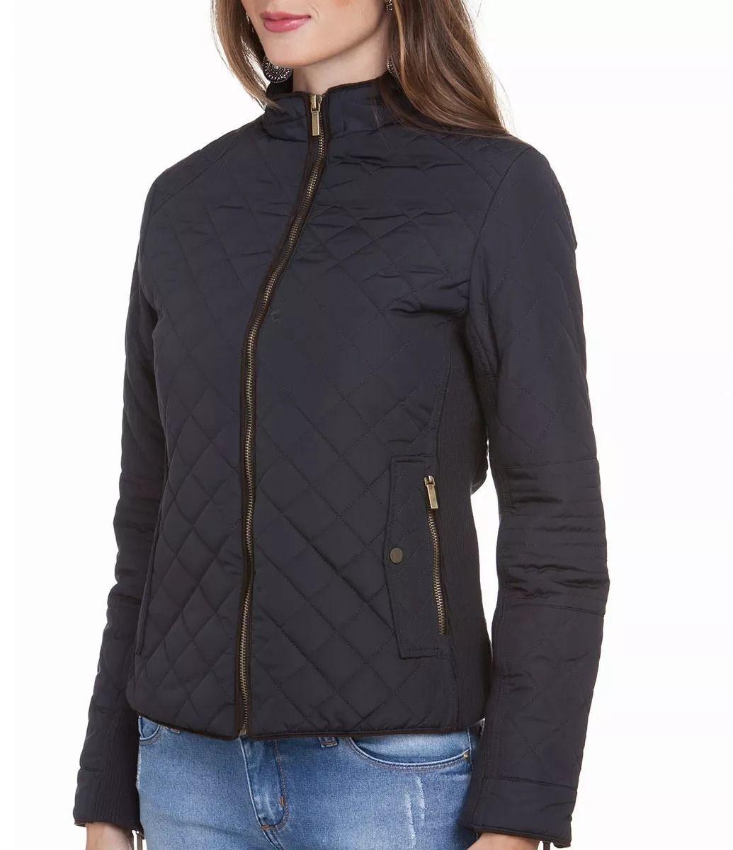 e55d8ec9361 jaqueta casaco feminina matelasse forrada semi-impermeável