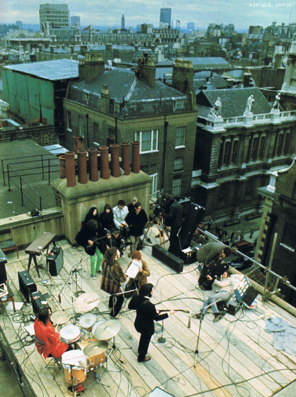 Scan rooftop beatles the beatles pinterest beatles