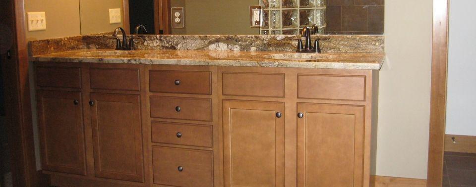 Luxury Maple Bathroom Vanity Cabinets L42 On Stunning Home Decor