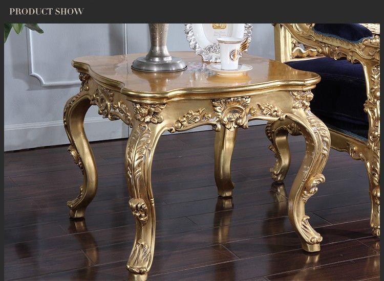 Estilo cl sico mesa auxiliar muebles antiguos muebles de for Muebles auxiliares clasicos madera