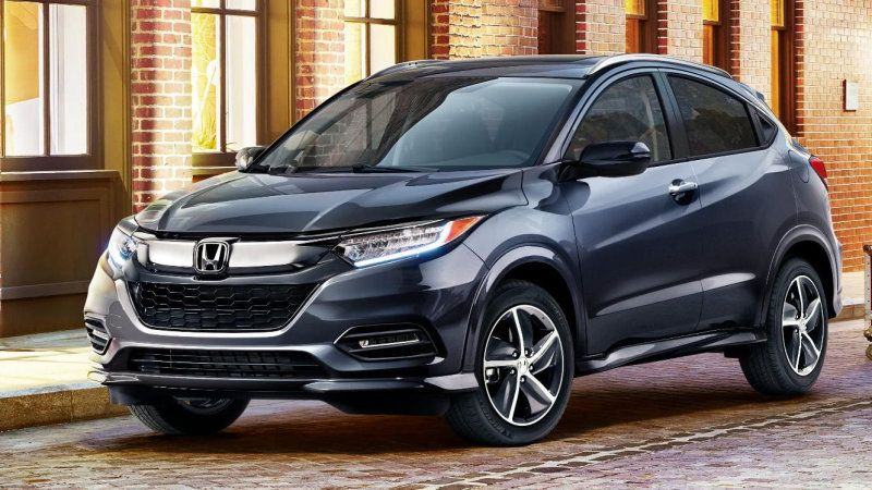 2019 Honda Pilot Hr V Revealed With New Features Styling Honda Hrv Honda Pilot New Honda