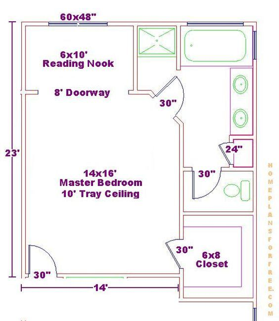 Ensuite Bathroom Floor Plans afbeeldingsresultaat voor ensuite bathroom walk in closet plans
