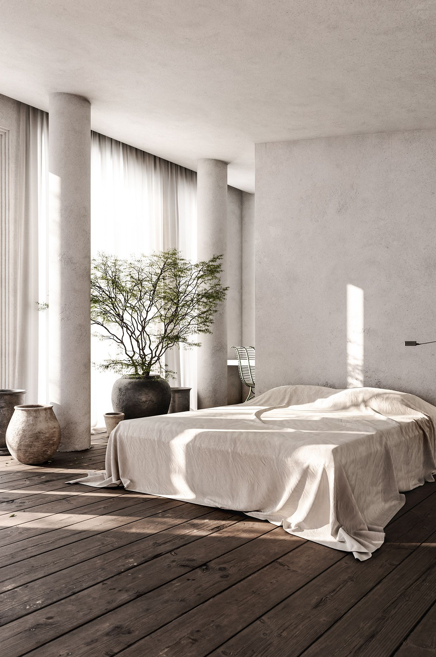 Minimalist Bedroom Interior Design Concept Bedroom Interior Home Decor Interior Design Beautiful bedroom interior design