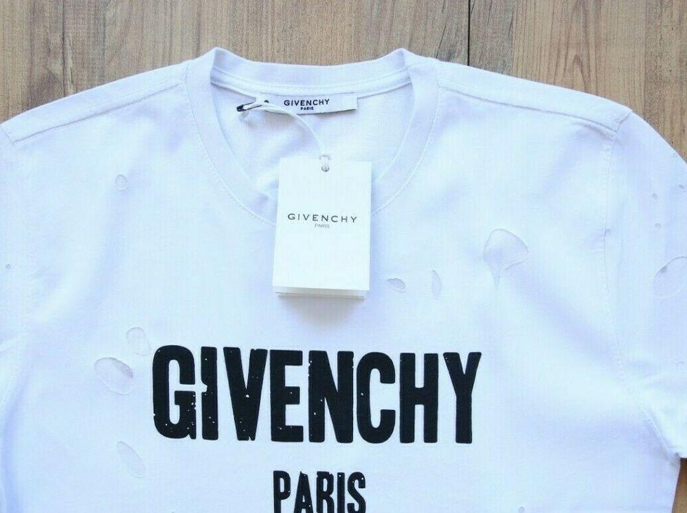 0314eb8dd GIVENCHY PARIS CREW NECK T SHIRT MENS NEW GENUINE TAGS CASUAL SIZE XL  CASUAL #fashion