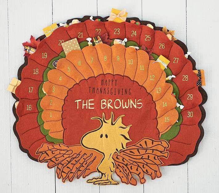 Peanuts 174 Thanksgiving Advent Calendar Thanksgiving