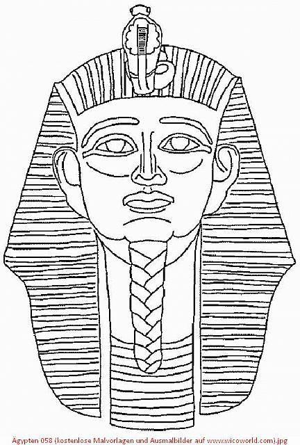 ägypten 058 Kostenlose Malvorlagen Und Ausmalbilder Auf Www