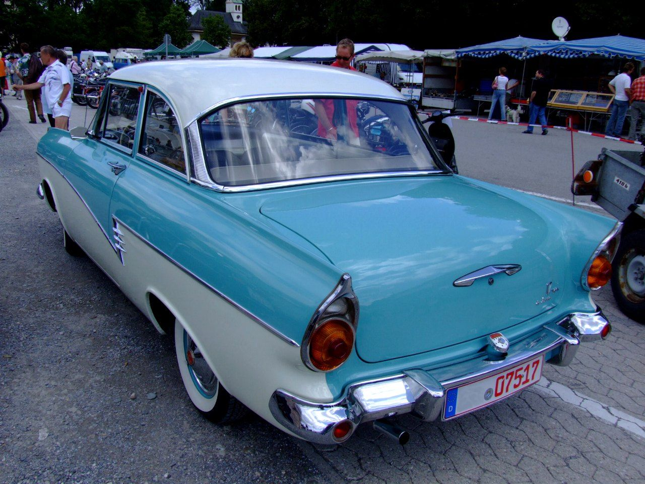 1957 Ford Taunus 17 M De Luxe P2 Rear Oldtimers Ford