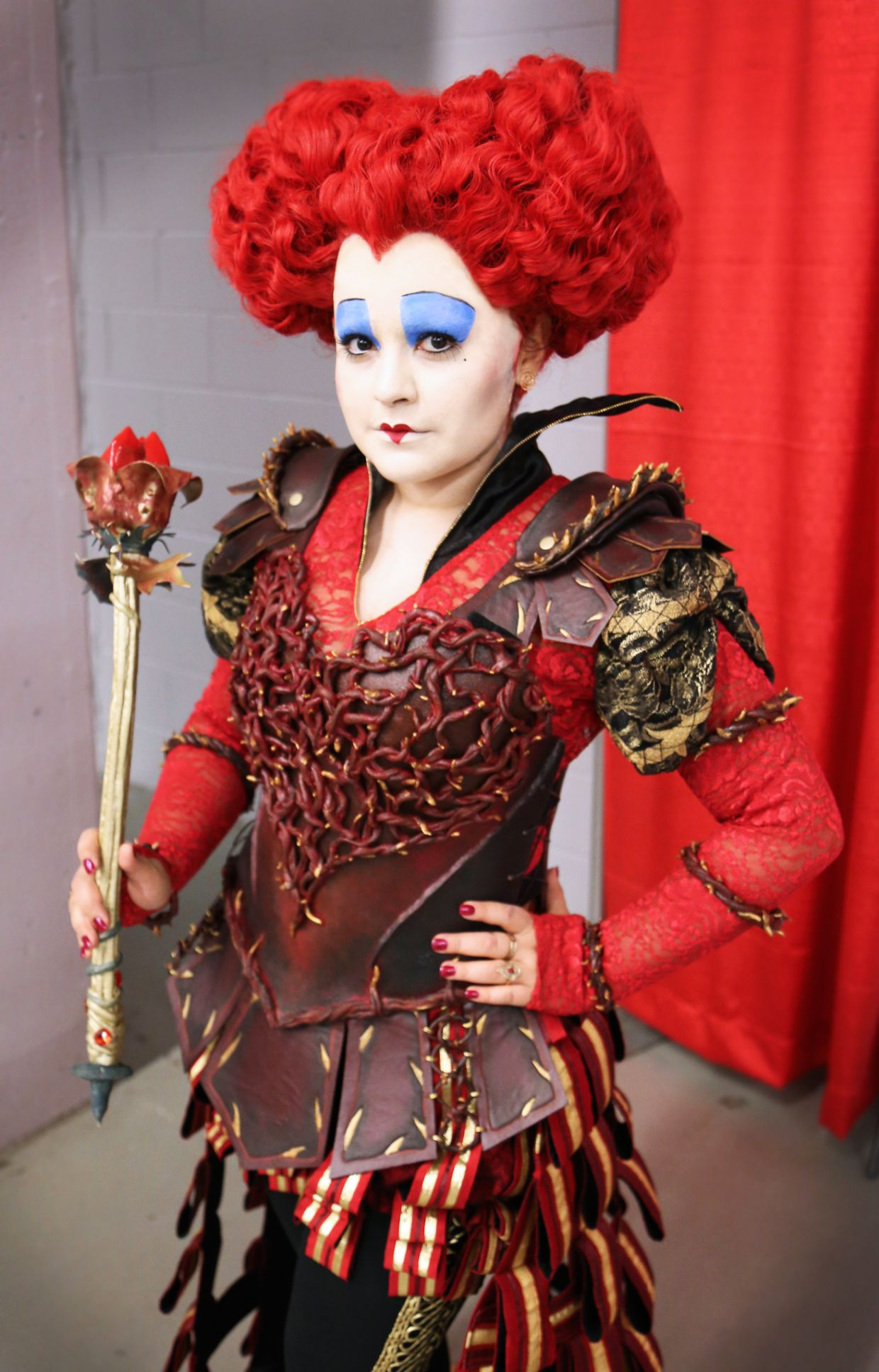 Red Queen Cosplay Alice Through The Looking Glass Alice In