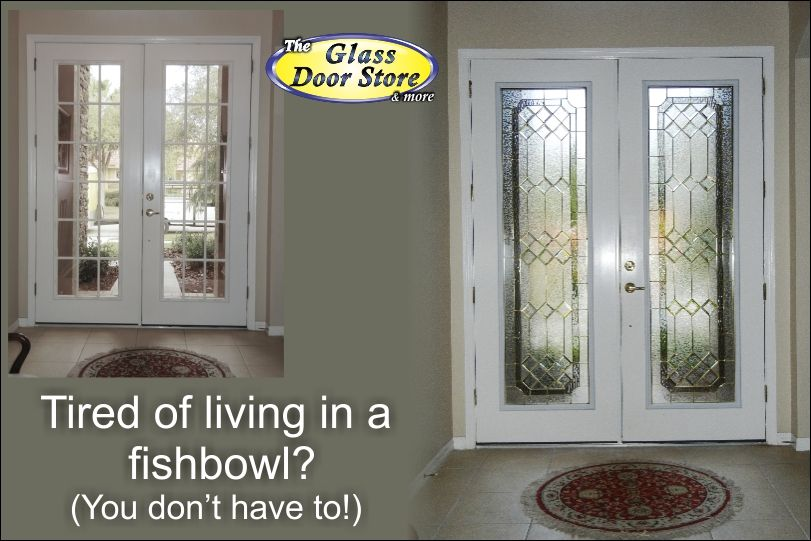 Replacing Clear Glass In The Front Doors High Privacy Level Http