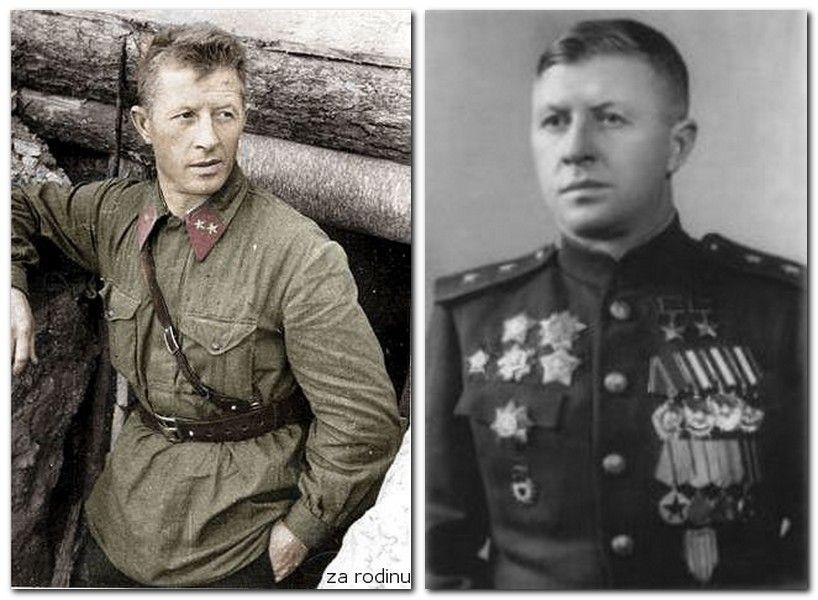 Alexander Ilich Rodimtsev 1905 1977 Was A Colonel General In The