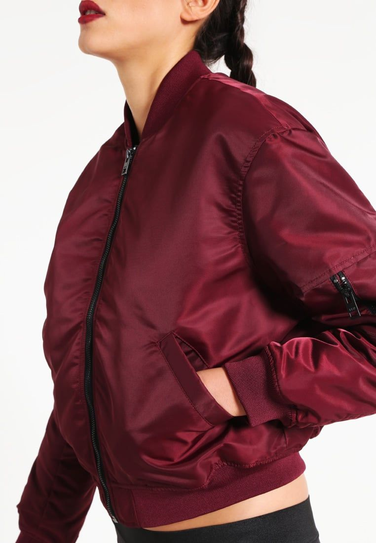 7df195e120a6b Brooklyn s Own by Rocawear Bomber Jacket - bordeaux for £49.99 (19 10 16)  with free delivery at Zalando