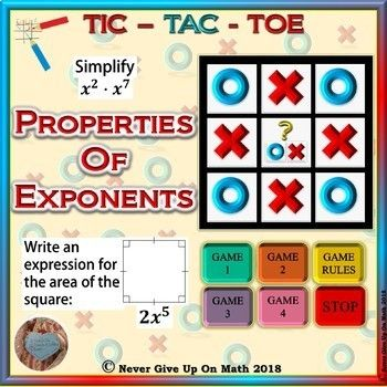 game tic tac toe properties of exponents microsoft powerpoint tic tac toe and gaming
