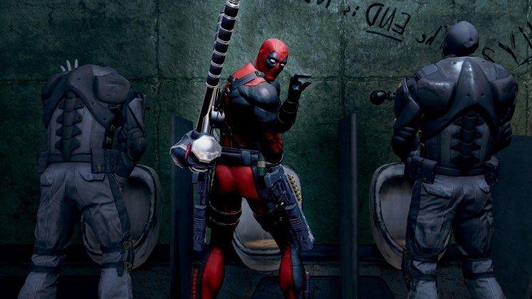 Deadpool Game Hd Wallpaper Gaming Wallpapers Hd Marvel Marvel