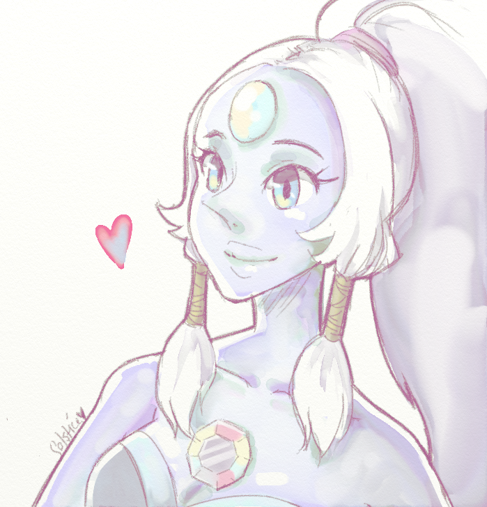 I have to say Opal is my favorite Fusion. (Unless the ...