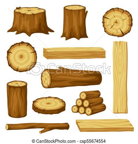 Pile De Bois Cartoon Recherche Google Wood Illustration Wood Wood Logs
