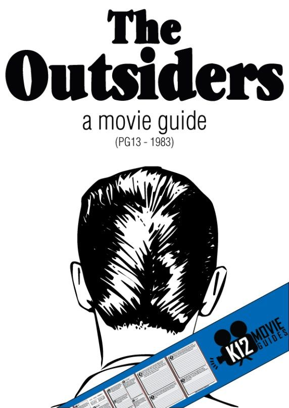 The Outsiders Movie Guide Teaching Reading Pinterest Movie