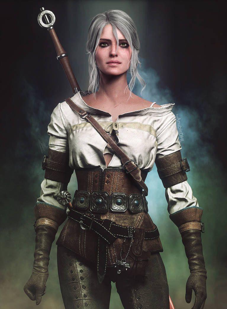 Ciri By Https Www Deviantart Com Anubisdhl On Deviantart Warrior Woman Ciri Ciri Witcher Ciri witcher 3 hd games artwork