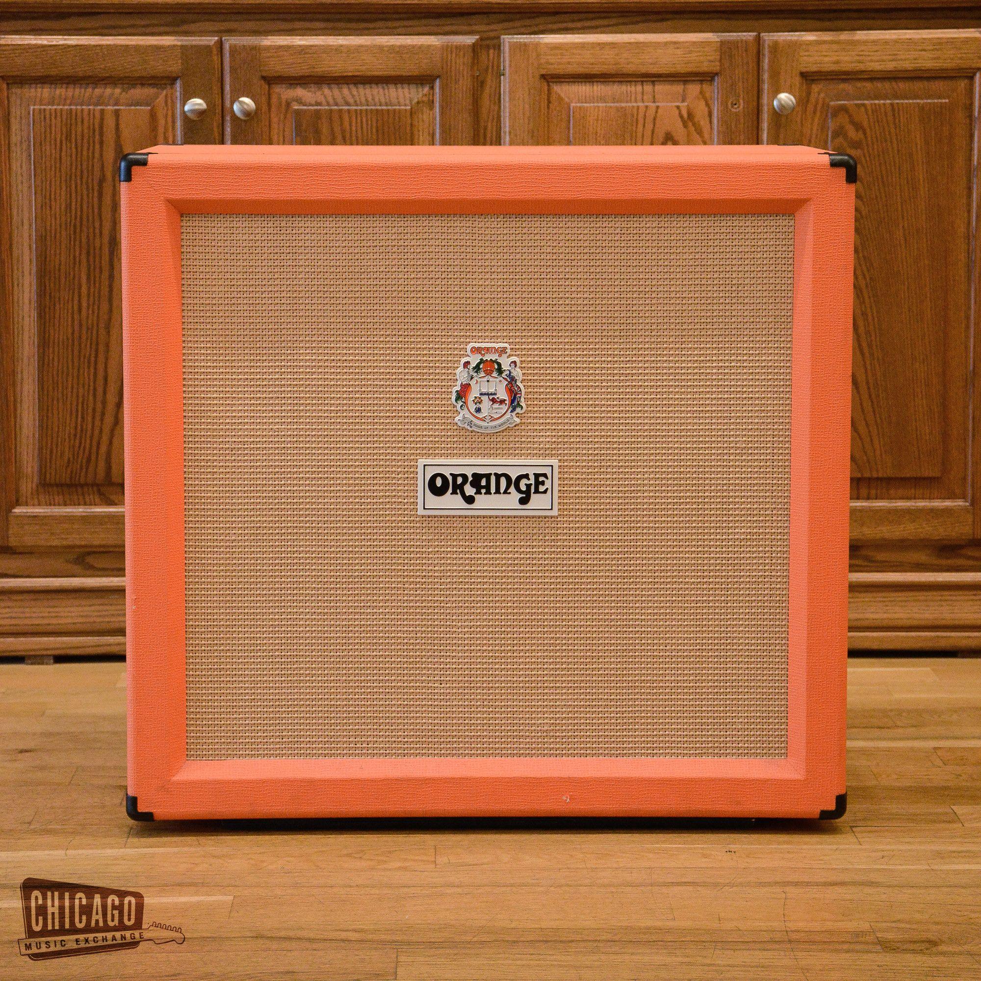 Orange PPC412 4x12 Speaker Cabinet USED