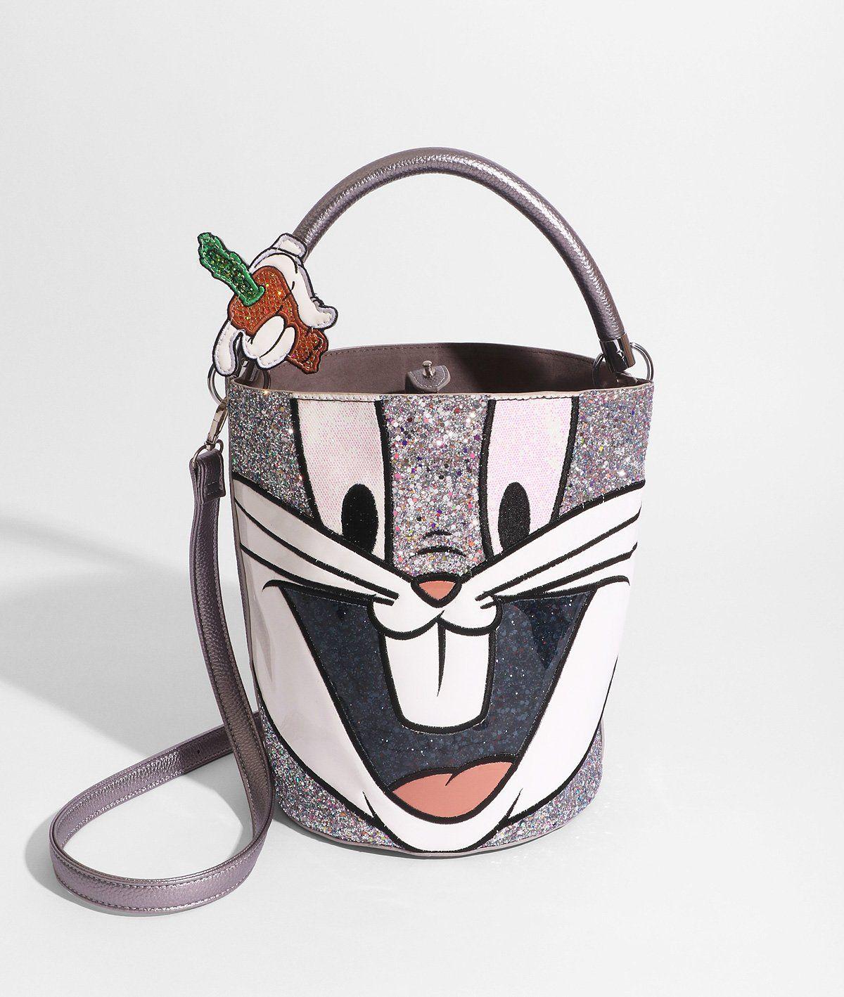 e117726e67 Looney Tunes x Danielle Nicole Bugs Bunny Bucket Bag