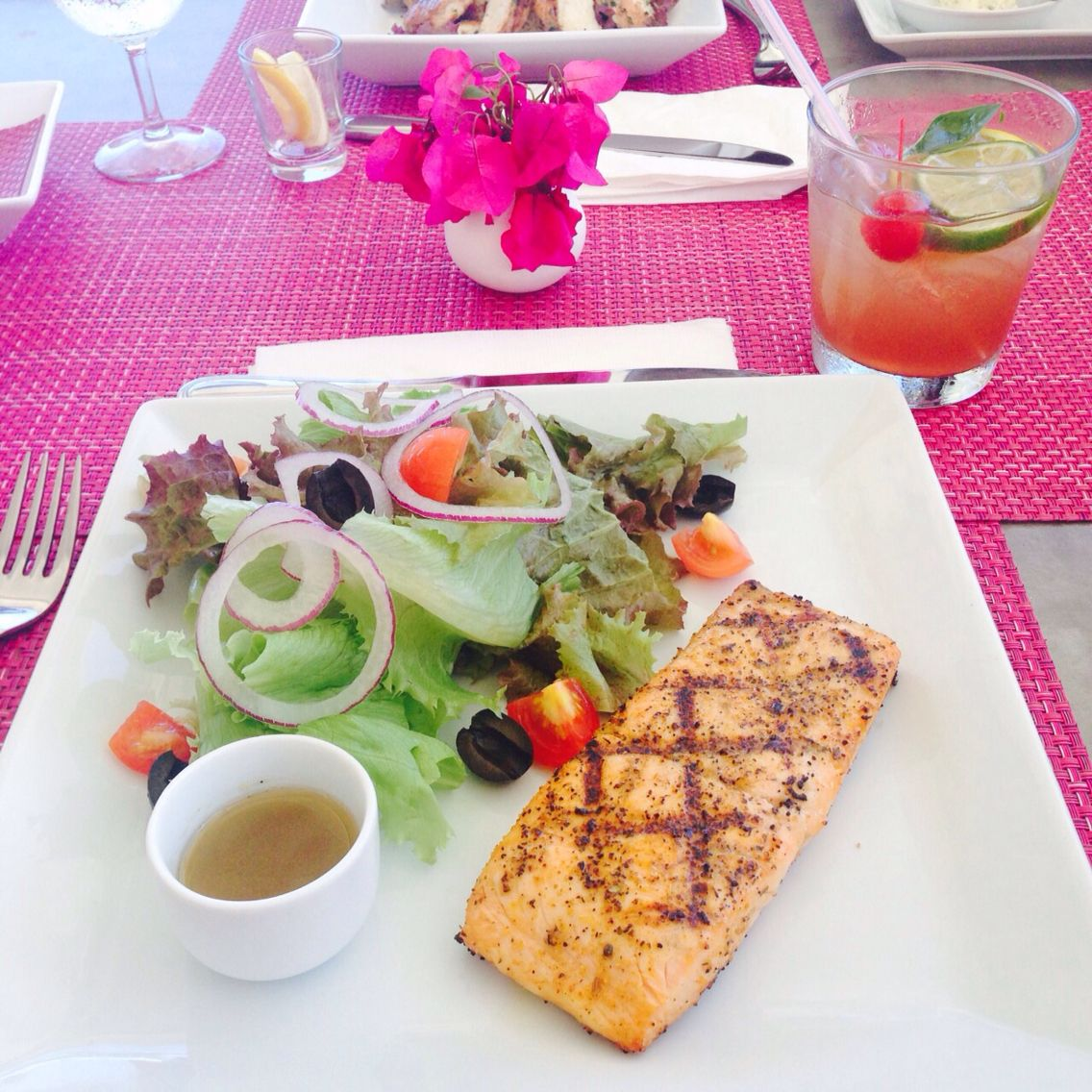 Lunch at Ana's yummy islandstyle Caribbean vacations
