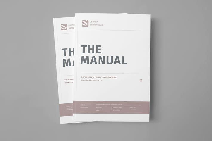 Download Brand Manual Graphic Templates By Egotype Subscribe To