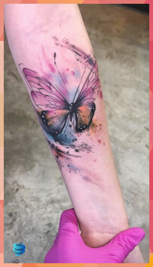 Watercolor Tattoos Will Turn Your Body into a Living Canvas – KickAss Things | L…