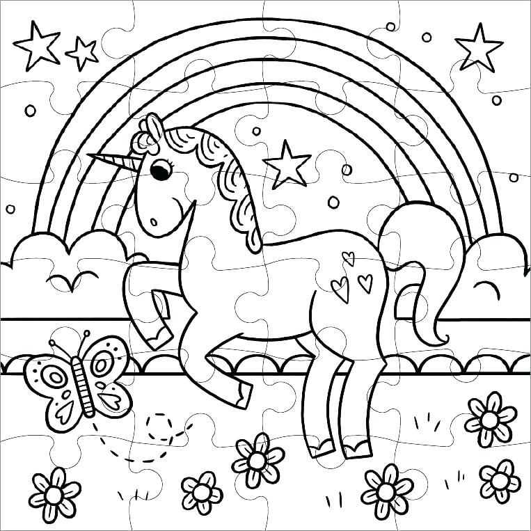 Rainbow Coloring Pages | Unicorn coloring pages, Coloring ...