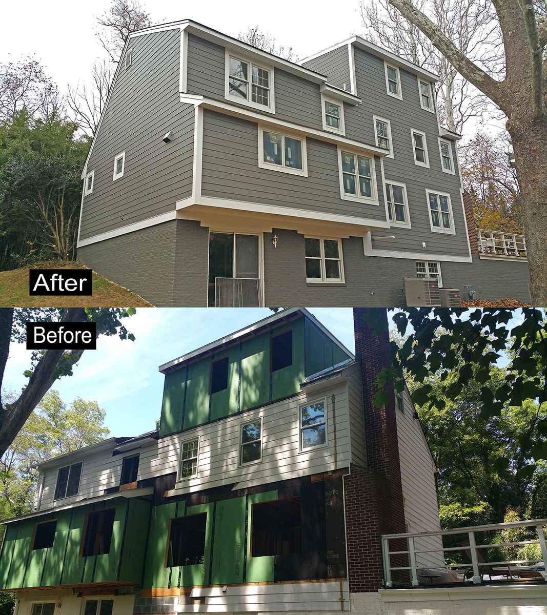 Siding Gallery Siding Replacement Works Crystal Exteriors Vinyl Soffit Siding Replacing Siding