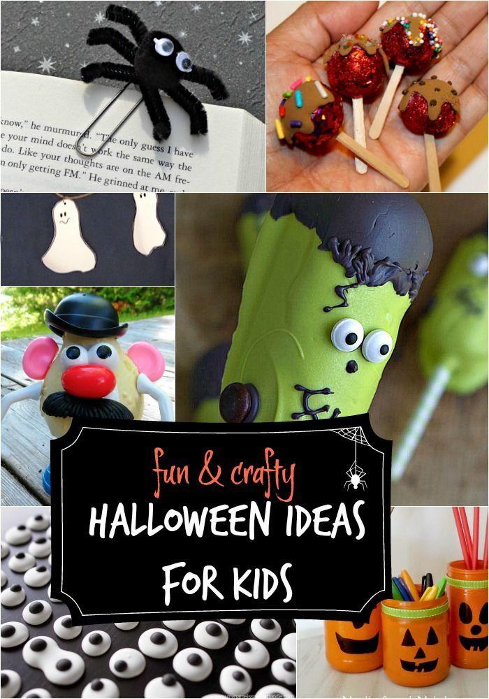Fun Halloween ideas for kids Halloween decorations and crafts - fun halloween ideas